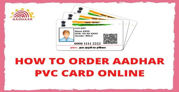 how-to-order-aadhar-pvc-card-online